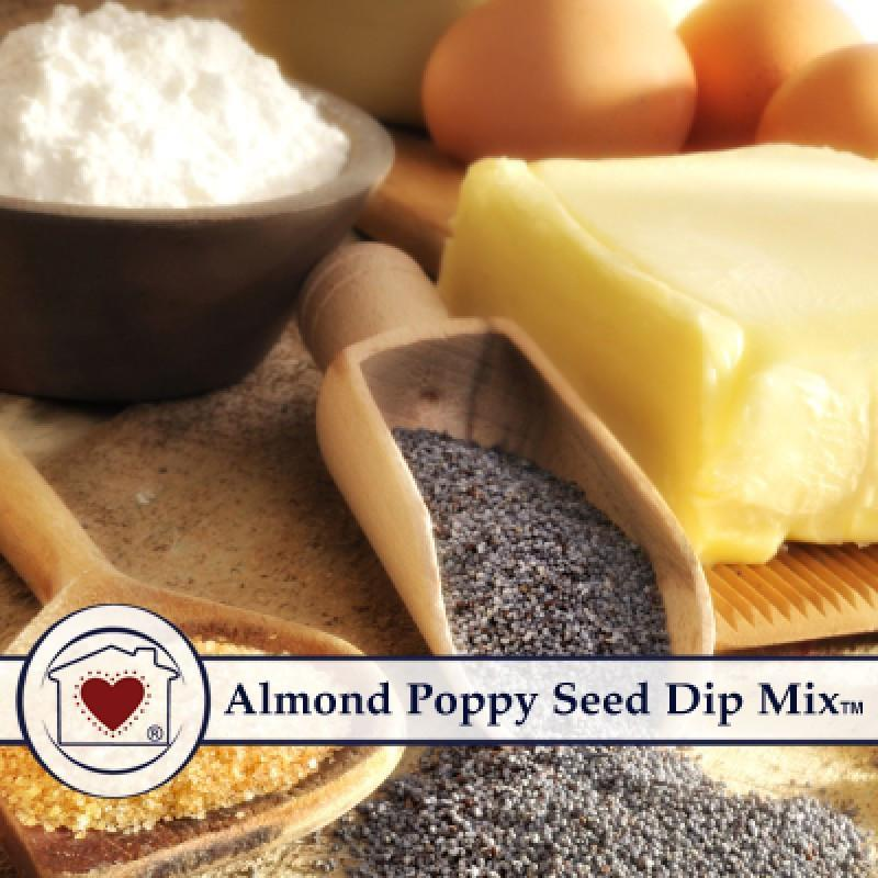 Almond Poppy Seed Dip Mix