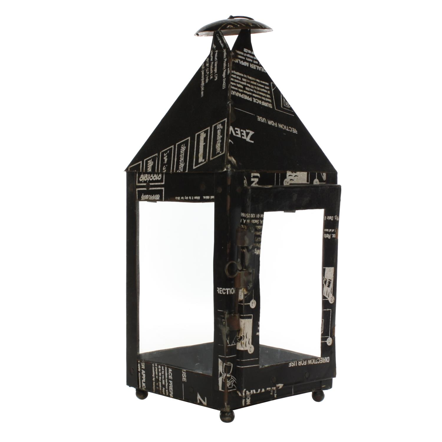 Reclaimed Metal Lantern