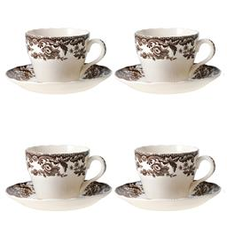Spode Delamere Teacup and Saucer