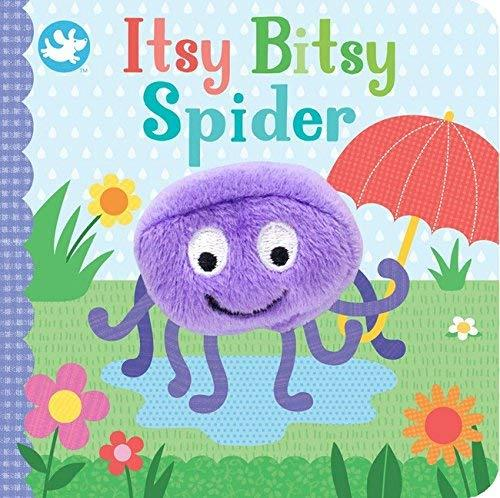 Itsy Bitsy Spider Puppet Book