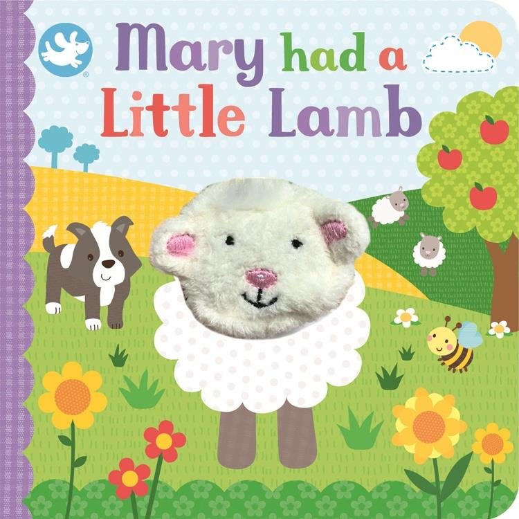 Mary Little Lamb Puppet Book