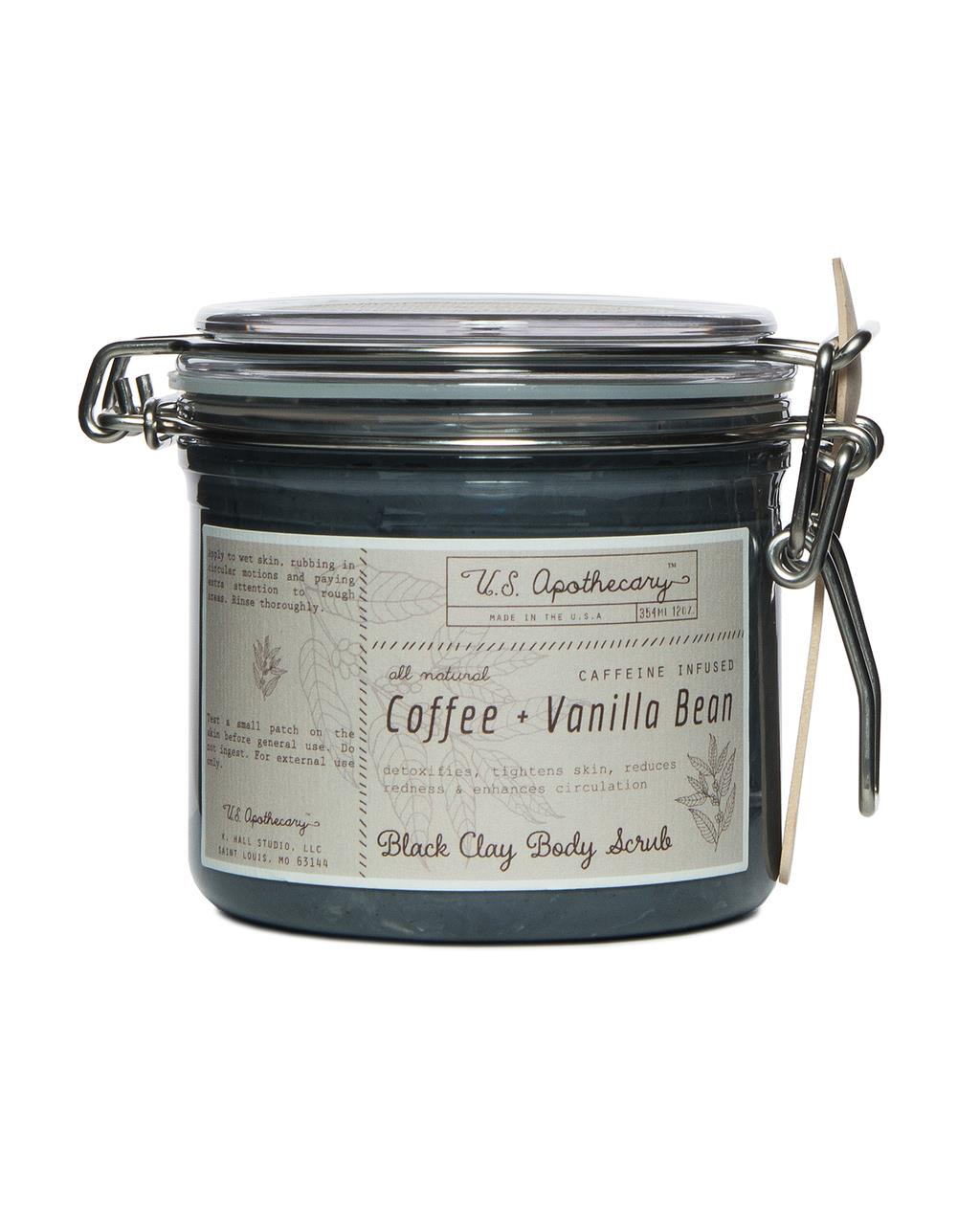 Coffee & Vanilla Bean Clay Body Scrub