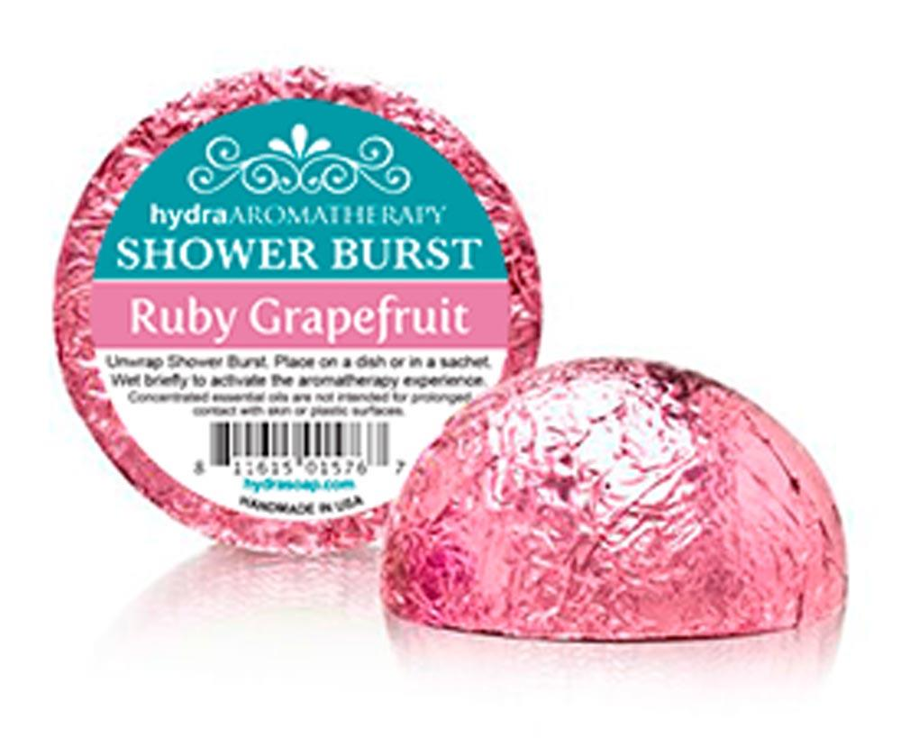 Shower Burst - Ruby Grapefruit