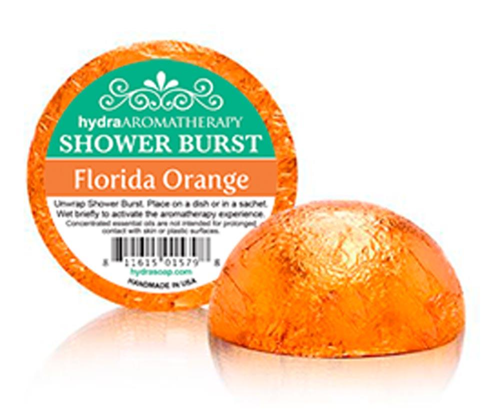 Shower Burst - Florida Orange