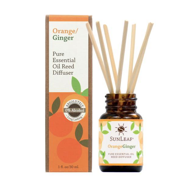 Orange Ginger Essential Oil Reed Diffuser - 1 oz