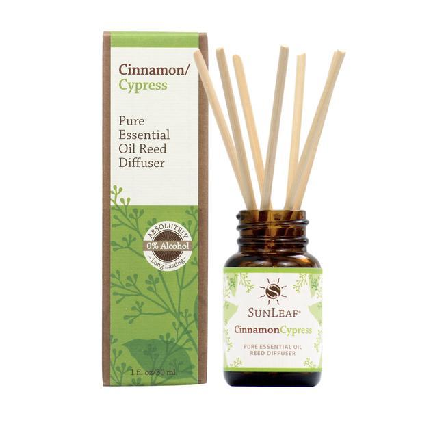 Cinnamon Cypress Essential Oil Reed Diffuser - 1 oz