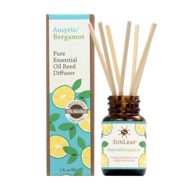 Amyris Bergamot Essential Oil Reed Diffuser - 1 oz