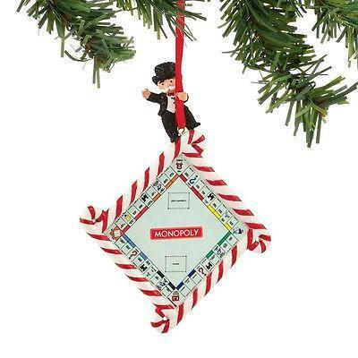 Monopoly Game Board Ornament