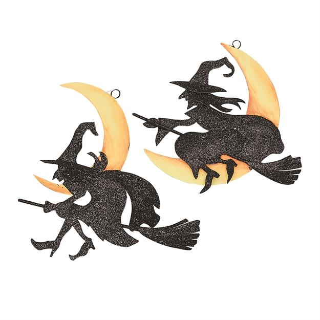 Witchy Moon Ornament