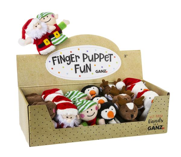 Holiday Finger Puppet