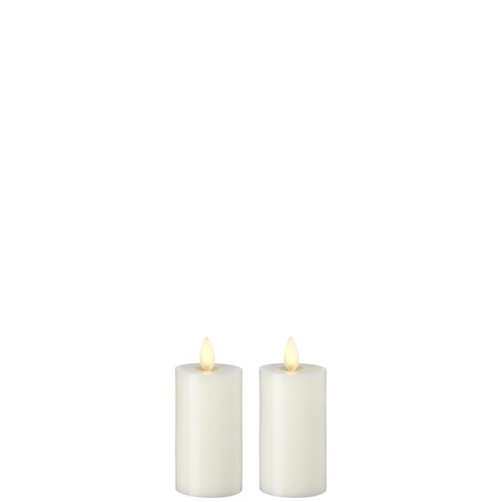 Moving Flame Candle with Timer 2'x3.5' Votive Set