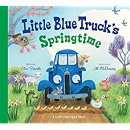 Little Blue Truck Spring Time