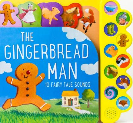 The Gingerbread Man Sound Book
