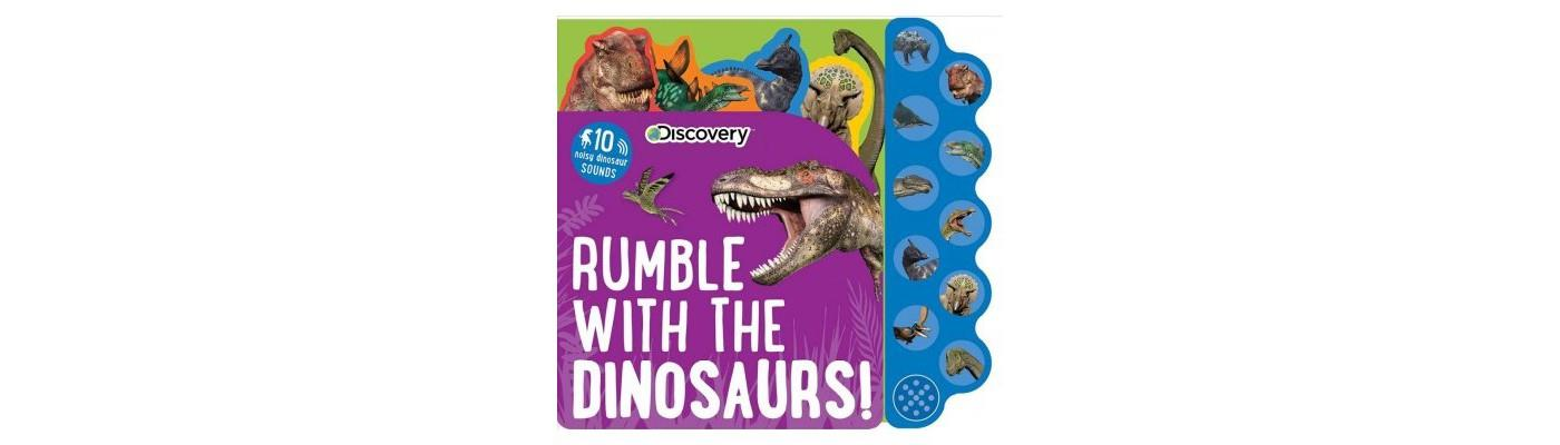 Rumble with Dinosaurs Sound Book