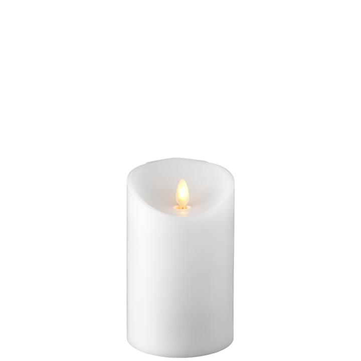 Moving Flame Candle with Timer 3.5'x5' Pillar