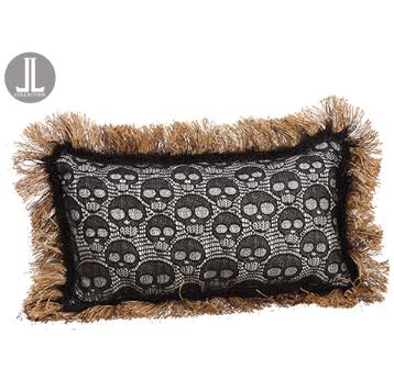 Skull Lace Pillow