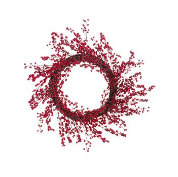 Berry Wreath - Red