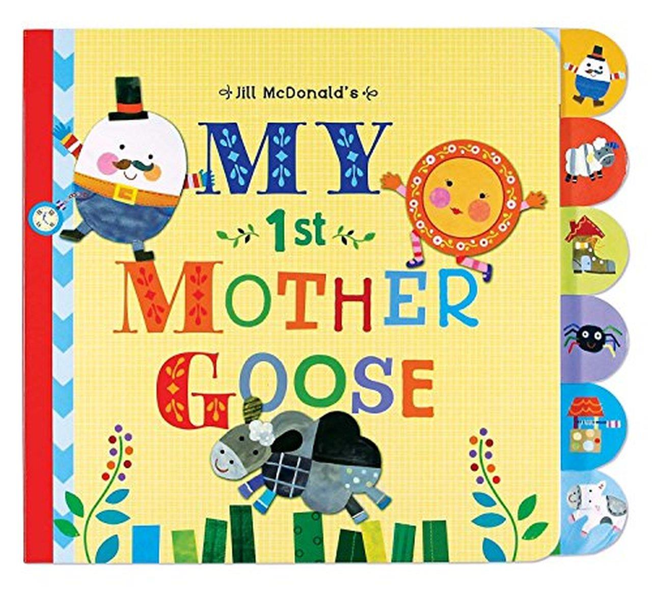 Mother Goose Tabbed Board Book