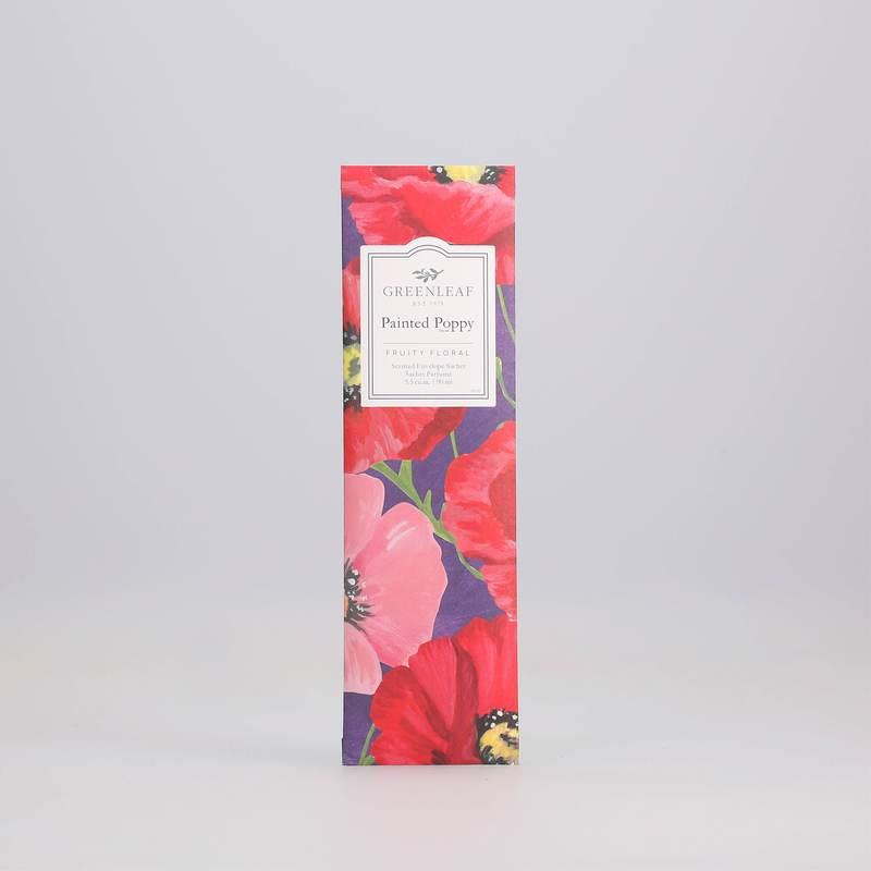 Painted Poppy - Slim Sachet