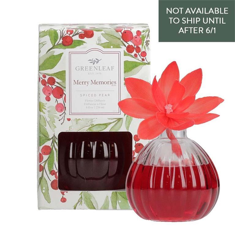 Merry Memories - Holiday Flower Diffuser