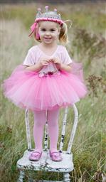 Rose Tutu Dark Pink Size 4-7