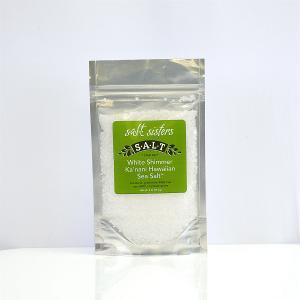 White Shimmer Ka'Nani Hawaiian Sea Salt Coarse (4 oz)