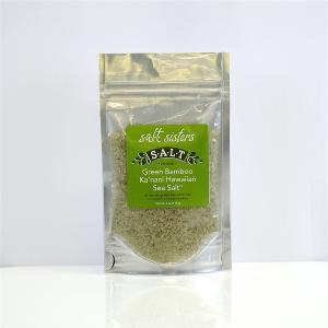 Green Bamboo Ka'nani Hawaiian Sea Salt Coarse (4 oz)