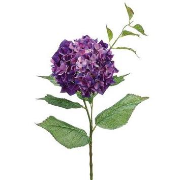 Hydrangea Spray - Purple