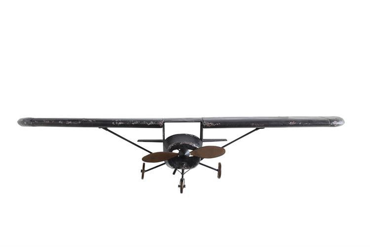 Metal Plane Wall Decor