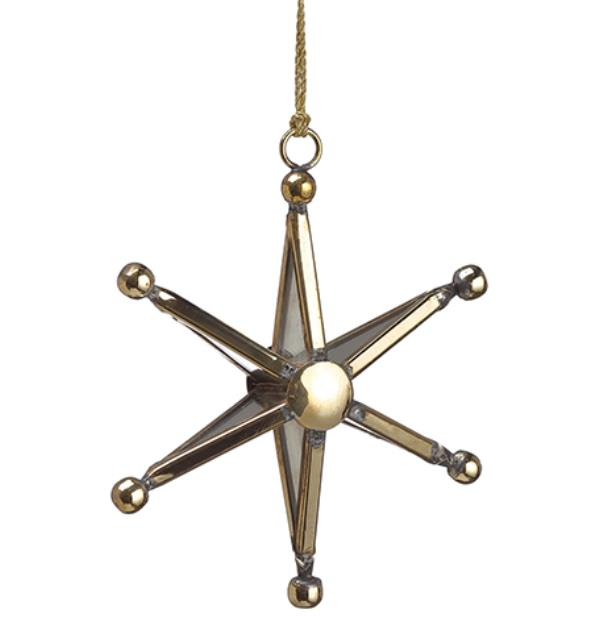 Gold Star Ornament - 4'