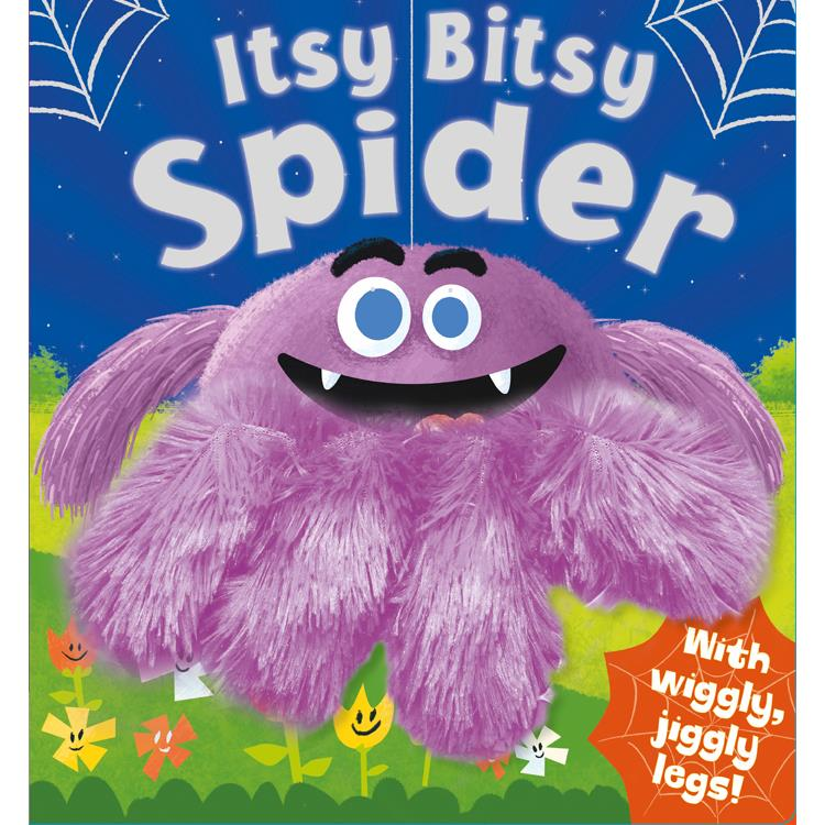 Wiggly Fingers Itsy Bitsy Spider