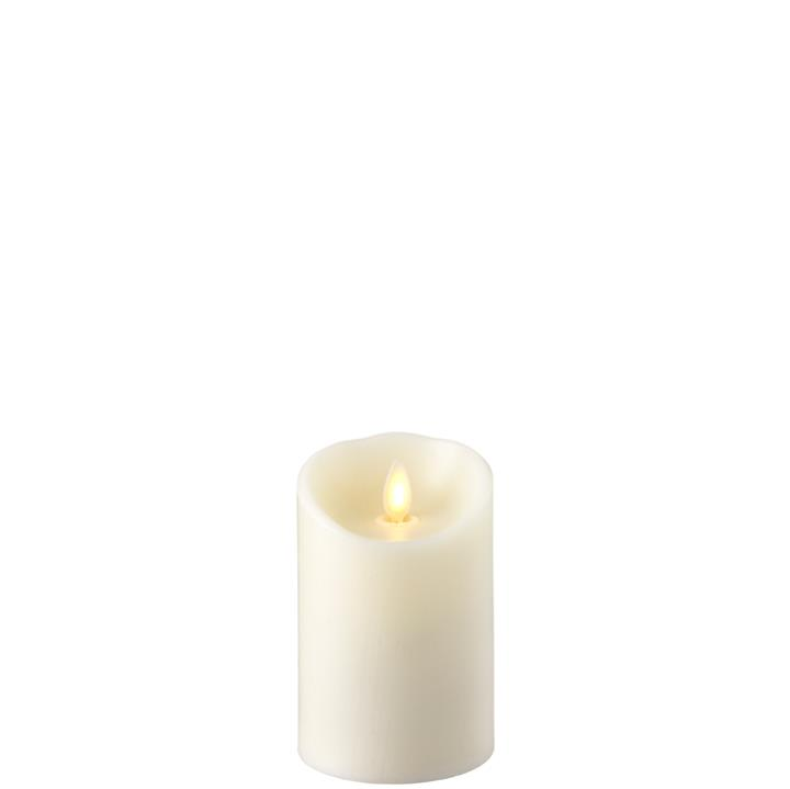 Moving Flame Candle with Timer 3' x 4' - Ivory