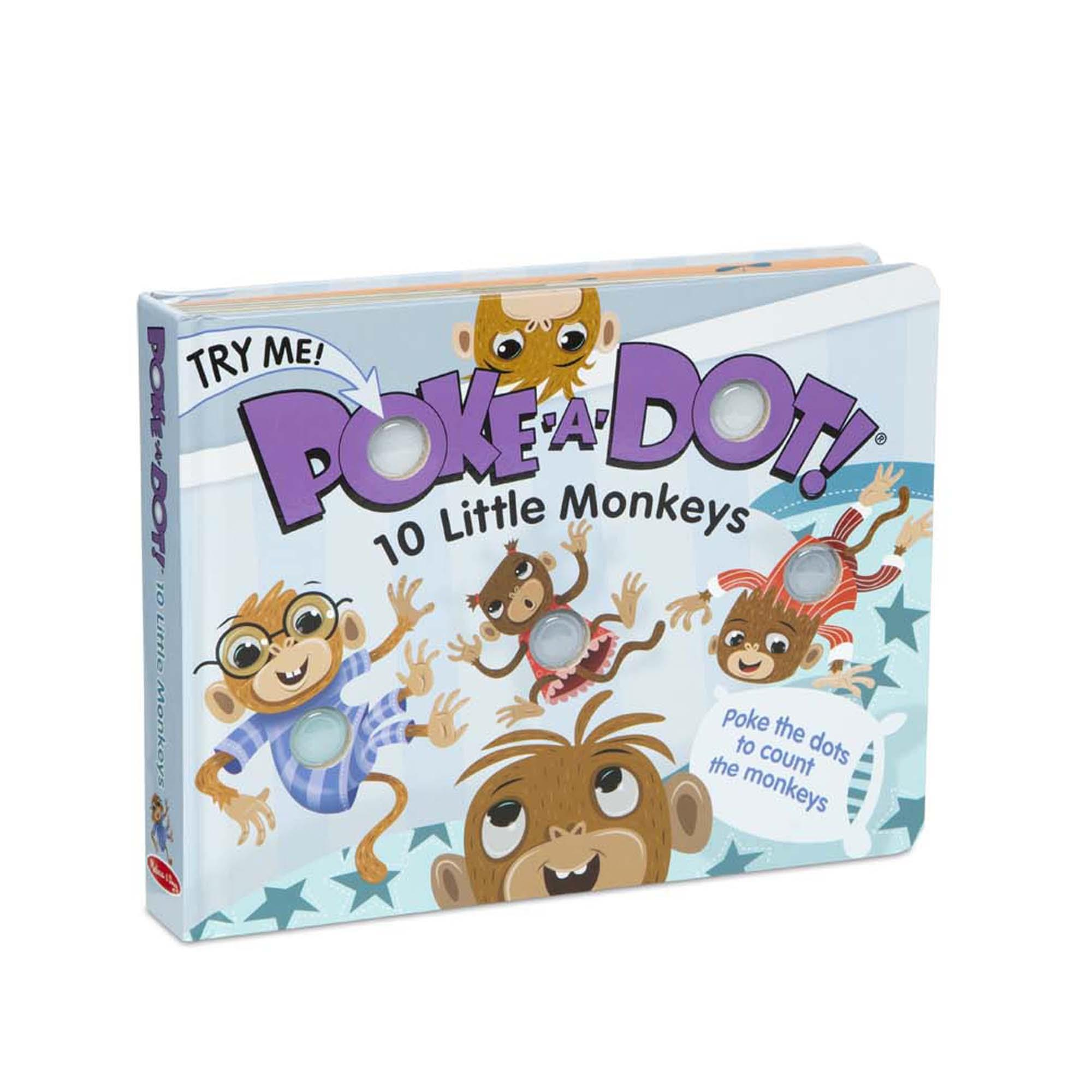 *Poke-A-Dot: 10 Little Monkeys