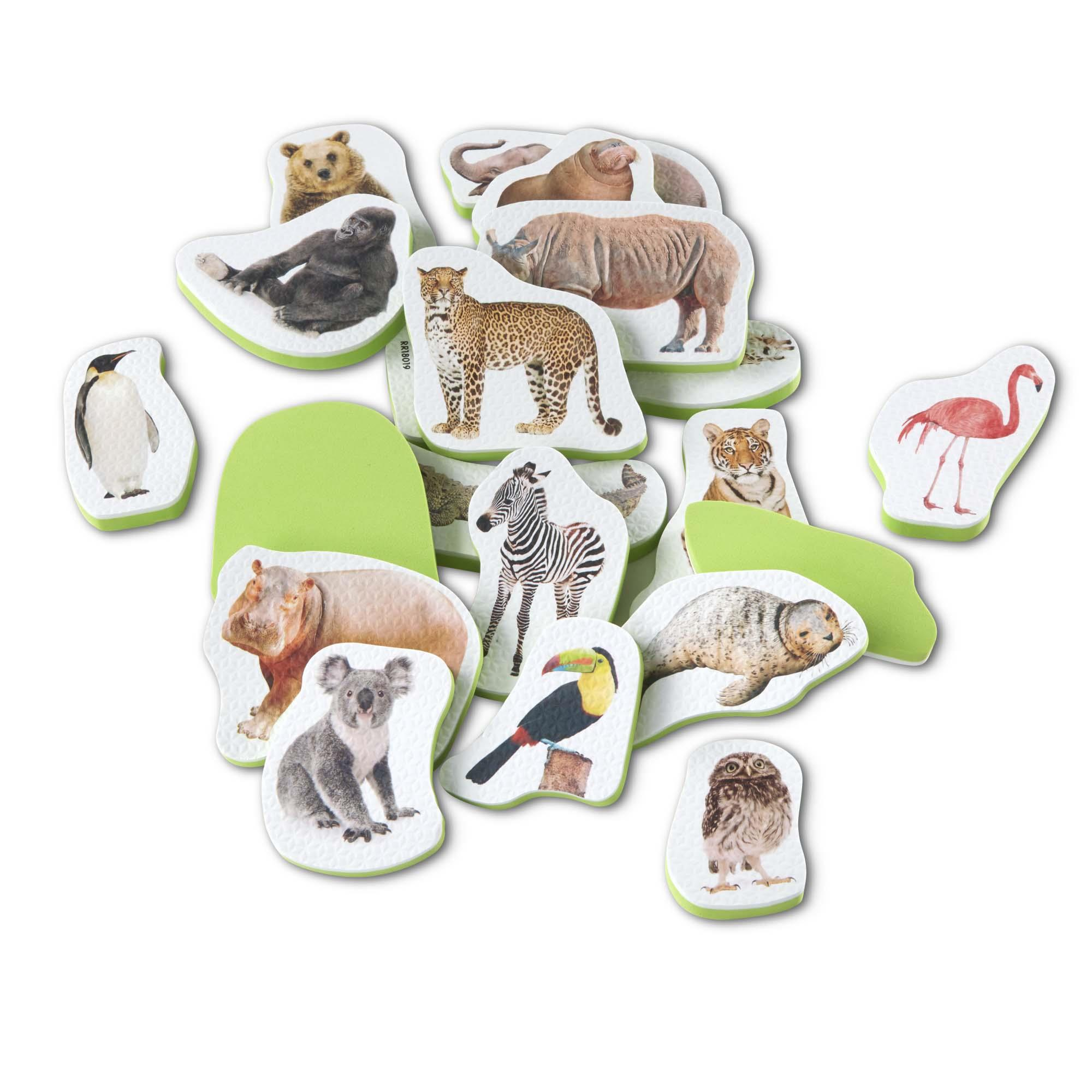 Tub Stickables - Wild Animals