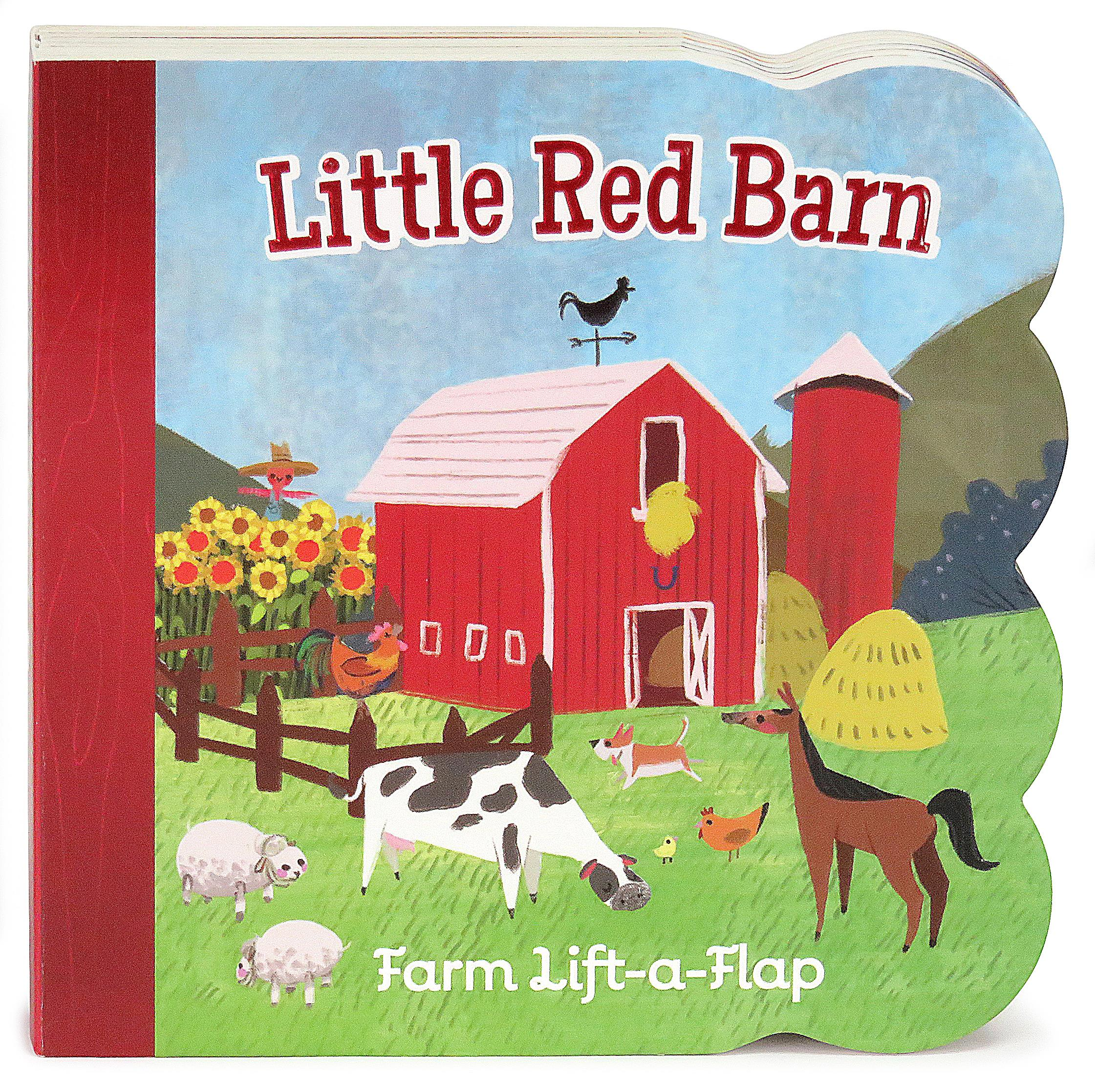 Little Red Barn Chunky Lift-a-Flap