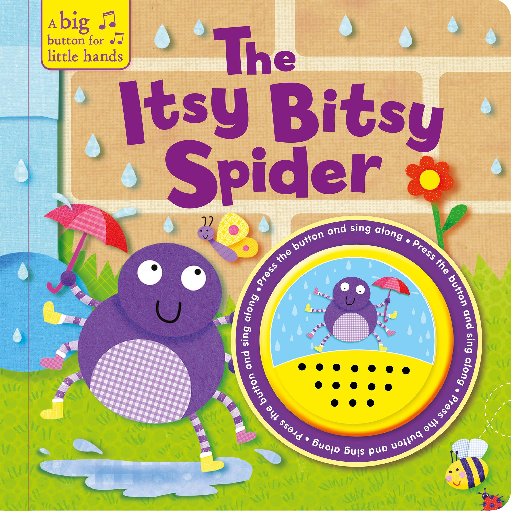 The Itsy Bitsy Spider Big Button
