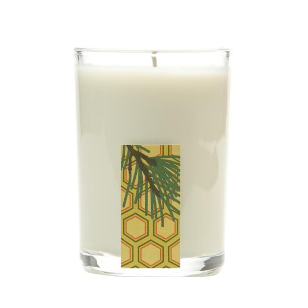 Olibanum Spruce Glass Candle