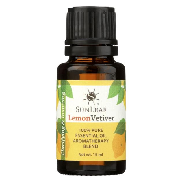 Lemon Vetiver Essential Oil - 15 ml