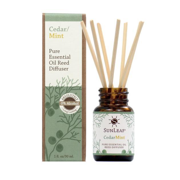 Cedar Mint Essential Oil Reed Diffuser - 3oz