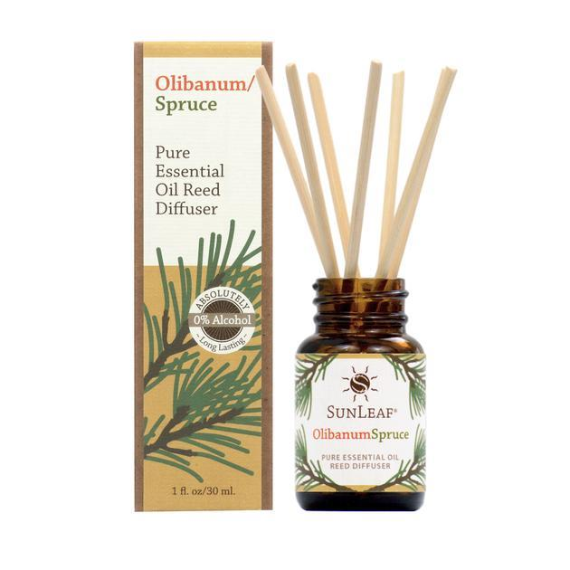 Olibanum Spruce Essential Oil Reed Diffuser - 3oz