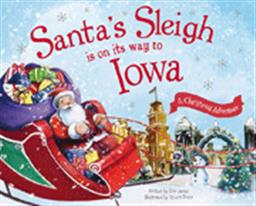Santa's Sleigh is on it's Way to Iowa Book