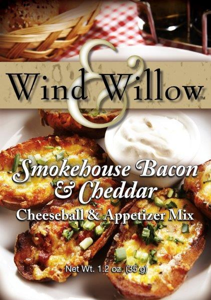 Smokehouse Bacon & Cheddar Cheeseball & Appetizer Mix