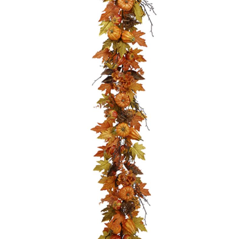 Maple Leaf/Pumpkin/Gourd Garland
