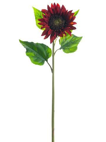 Sunflower - Red/Burgandy