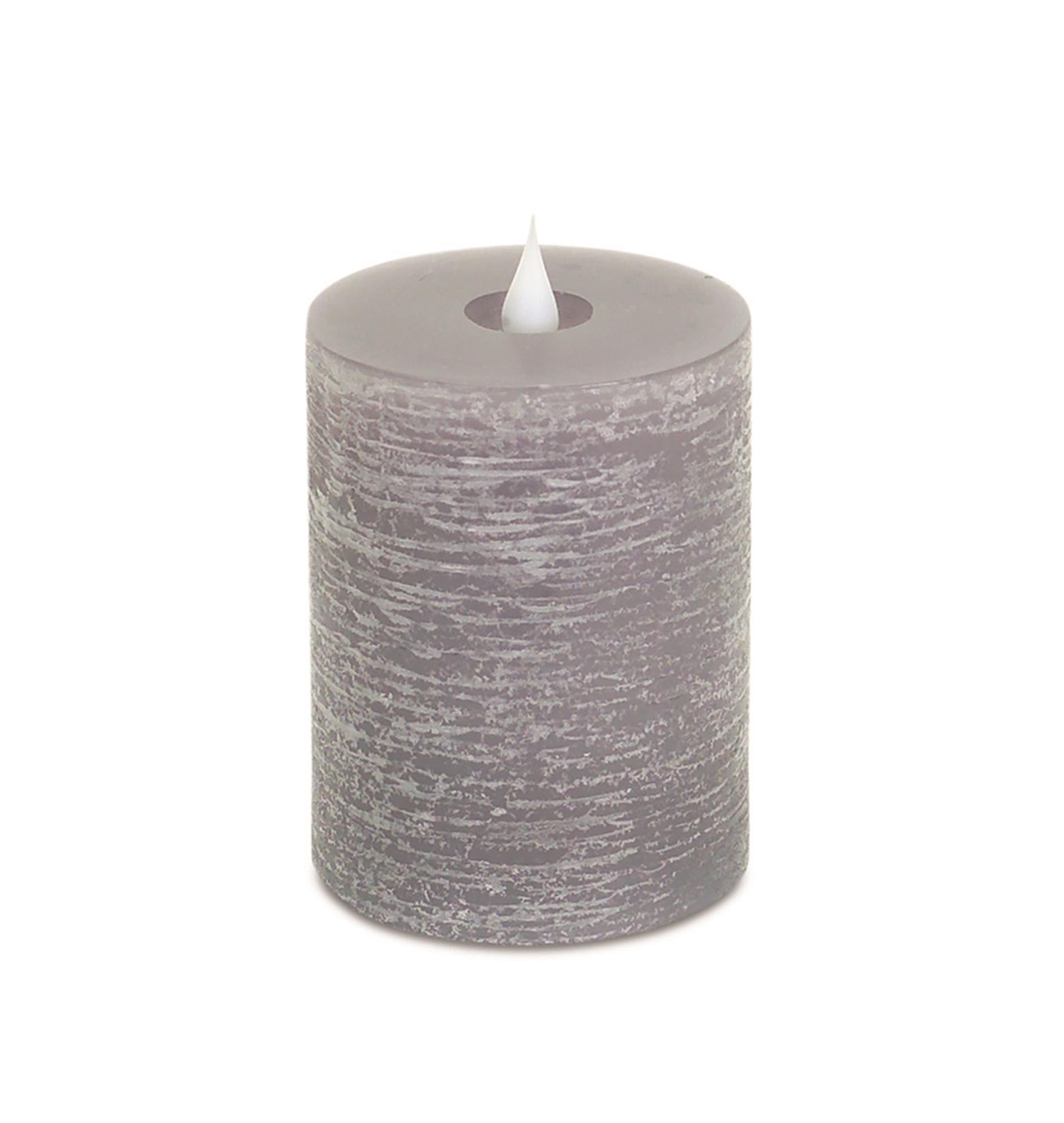 Simplux 3.5' x 5' Pillar Candle - Grey