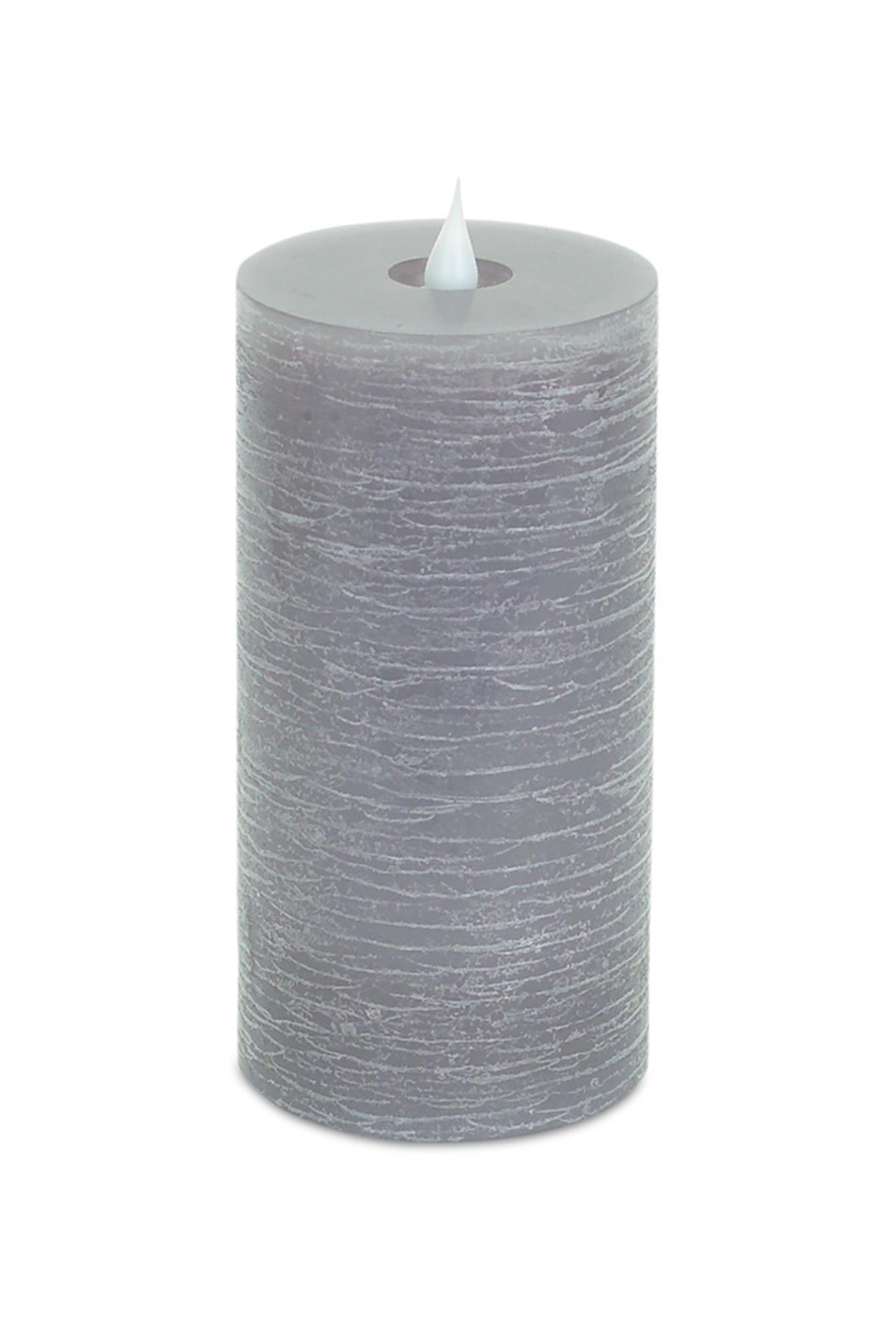 Simplux 3.5' x 7' Pillar Candle - Grey