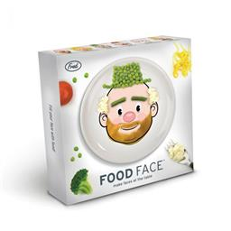 MR+MS FOOD FACE - DINNER PLATE ASST
