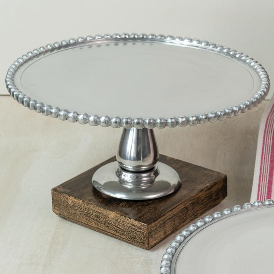 Beaded Cake Stand 11'
