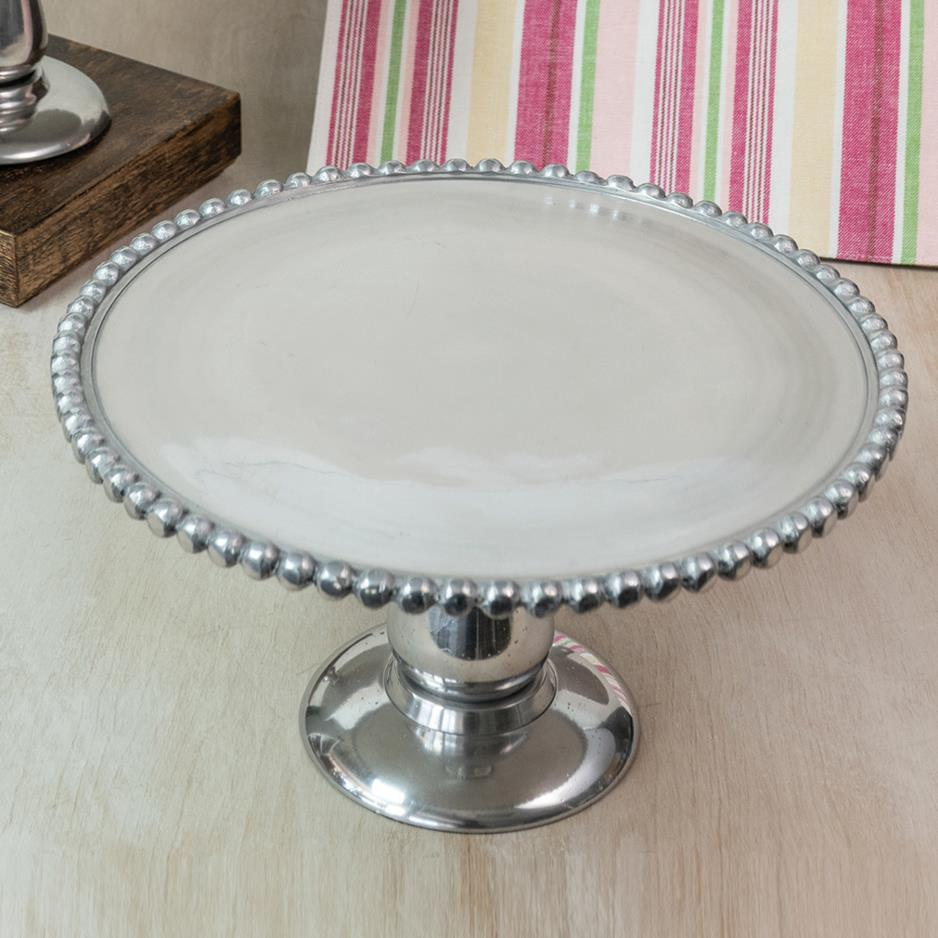 Beaded Cake Stand 13'
