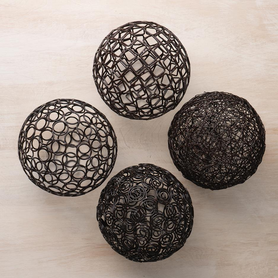 Copper Deco Balls